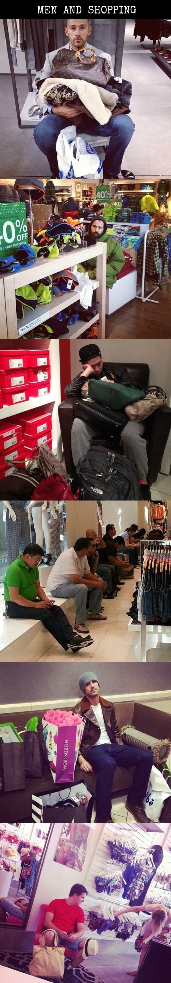 funny pics, men shopping