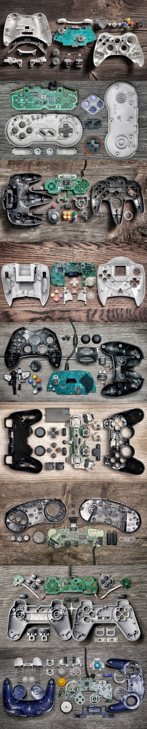 gaming, game controllers
