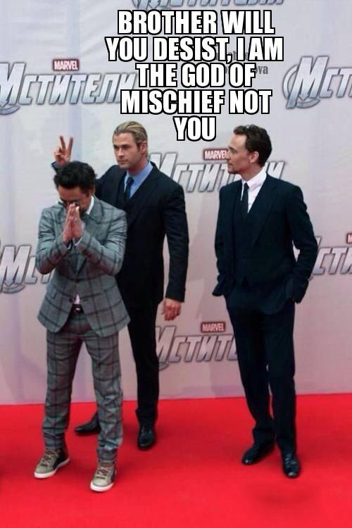 avengers, Tom Hiddleston, Chris Hemsworth, Robert Downey Jr