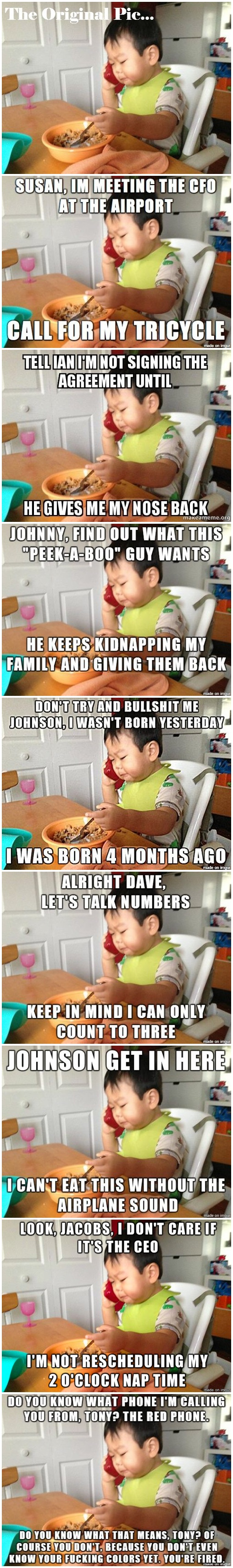 Business Baby Memes, funny pics, lol pics,