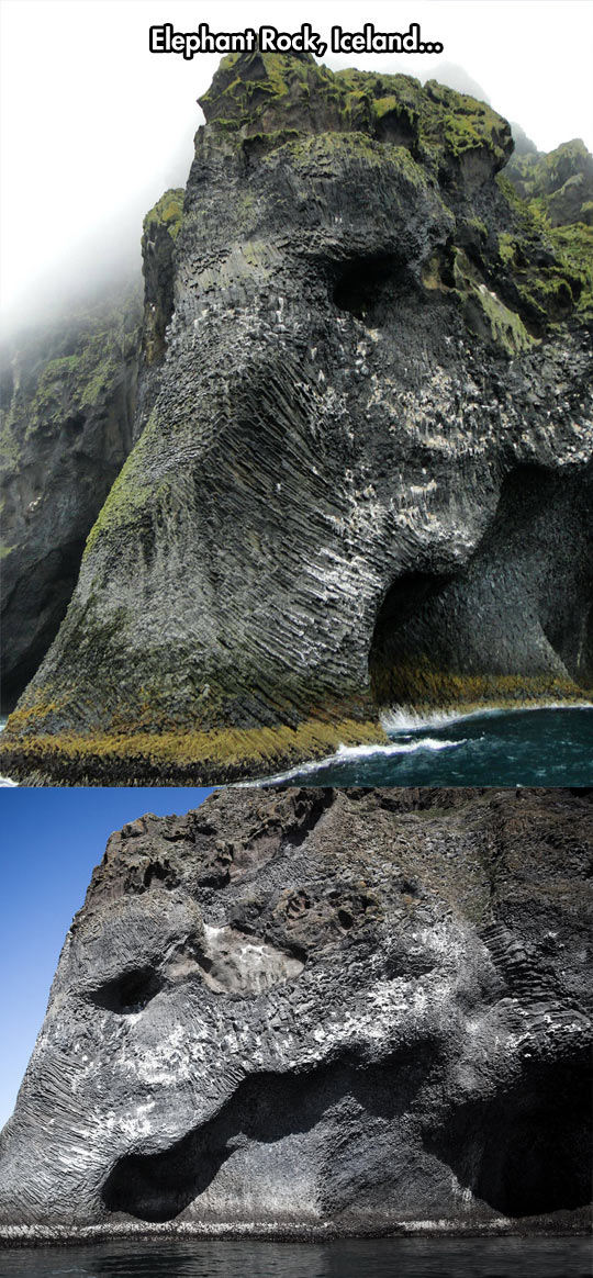 beautiful nature, elephant rock