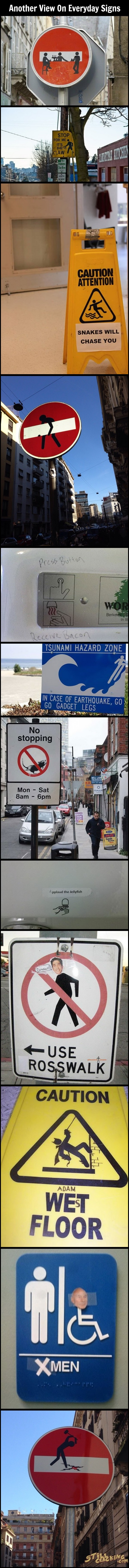 funny pics, funny signs, creative signs