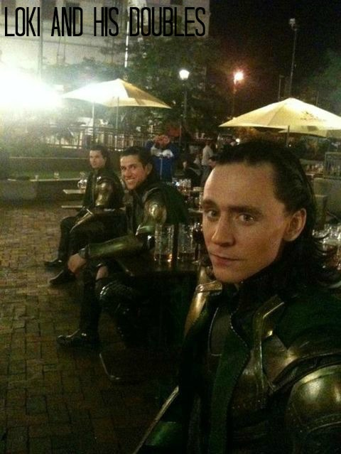 Loki, Tom Hiddleston, Loki doubles