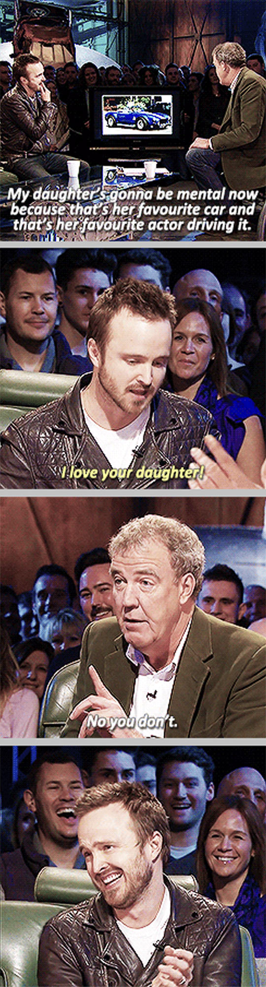 funny pics, Top Gear, Aaron Paul on Top Gear