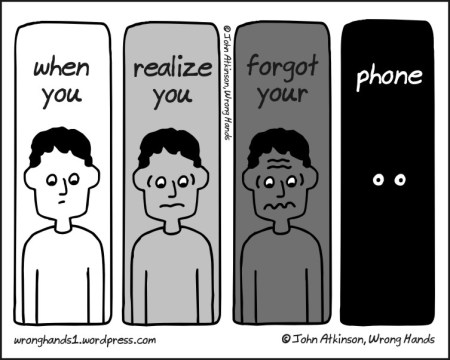 funny pics, lol pics, phone dependency