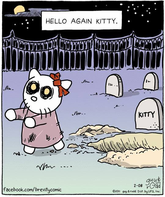 funny pics, lol pics, hello kitty humor