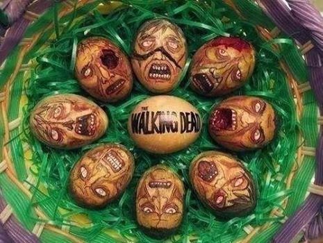 The Walking Dead Easter Eggs