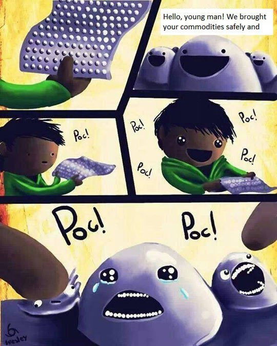funny pics, lol pics, bubble wrap