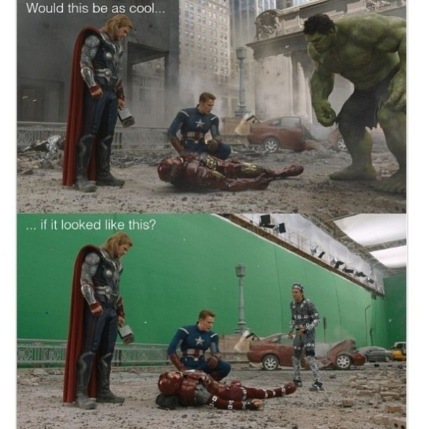 Avengers, behind the scenes