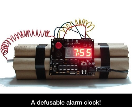 Most effective alarm clock ever!