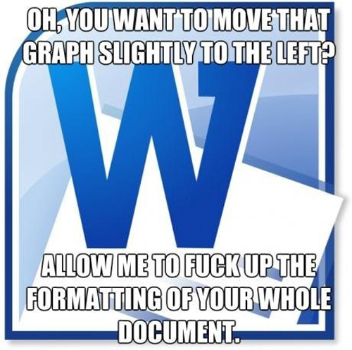 funny pics, Microsoft Word jokes