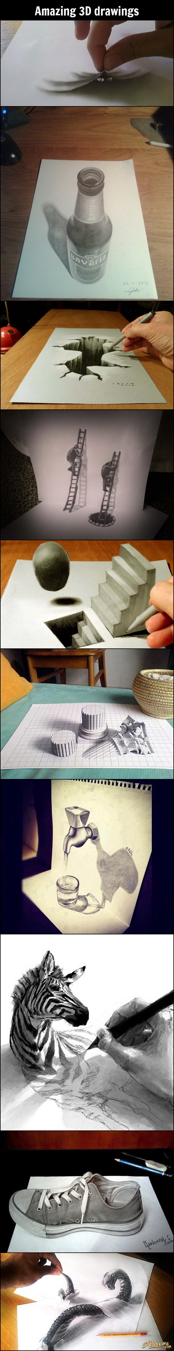 art, 3d drawings, amazing drawings