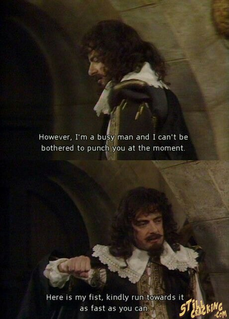 It's poker time blackadder