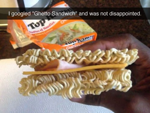ghetto sandwich, lol pics