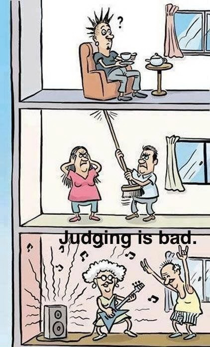 funny pics, judging is bad,