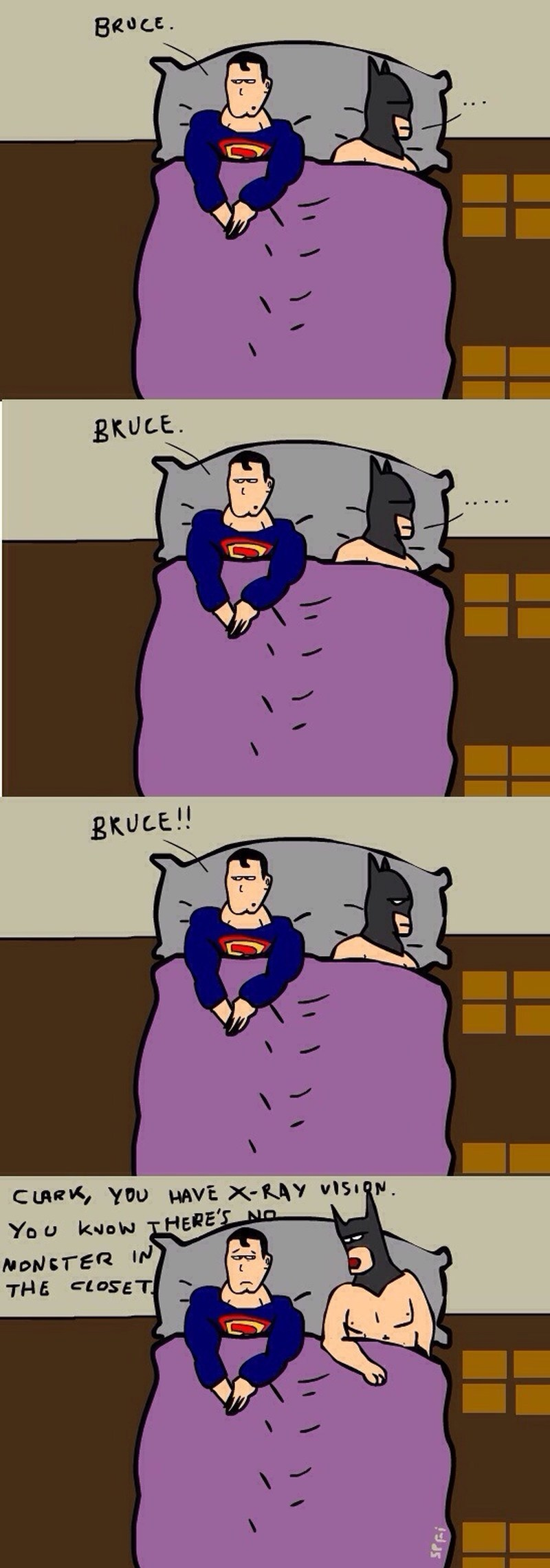 superman and batman humor