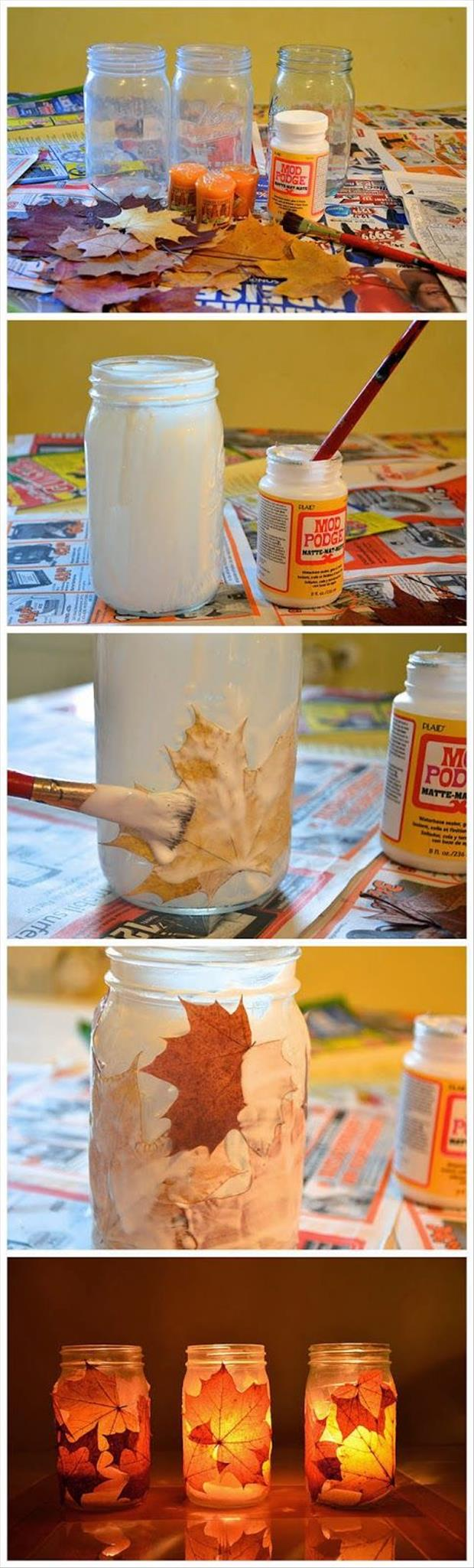 Fun diy craft ideas for fall for Easy diy fall crafts