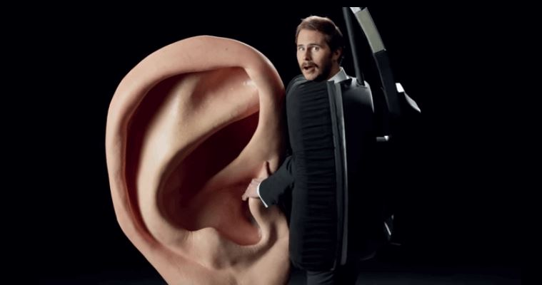 Weirdest Sennheiser Commercial Ever