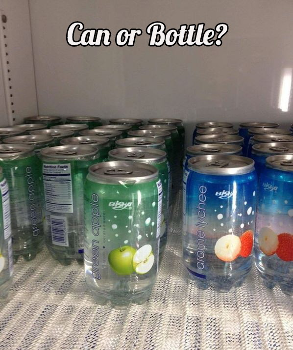 funny pics, can or bottle