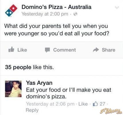 funny pics, lol pics, funny answers, funny fb comments