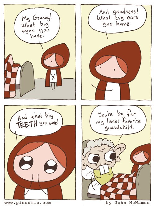 funny pics, Red Riding Hood
