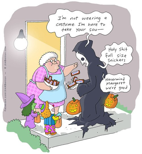 funny pics, trick or treat, Halloween humor