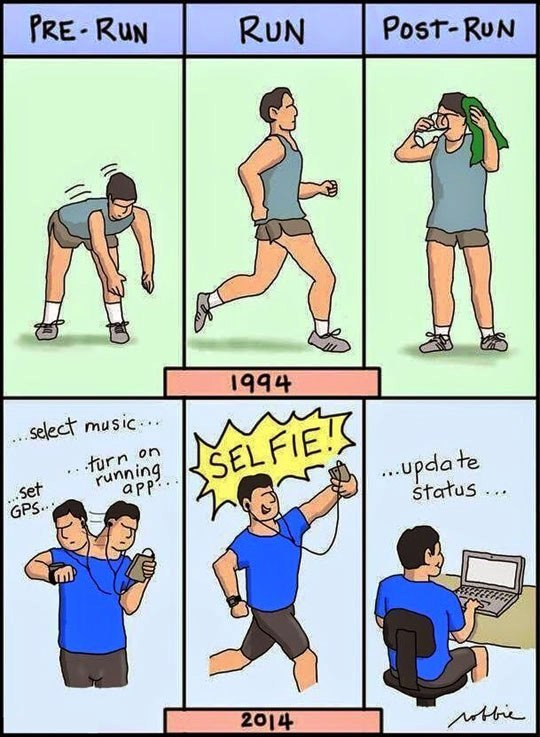 funny pics, lol pics, before and now, running