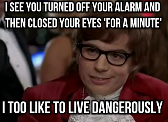funny pics, lol pics, I Like To Live Dangerously Too