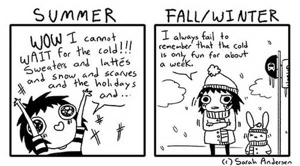 funny comics, winter humor, lol