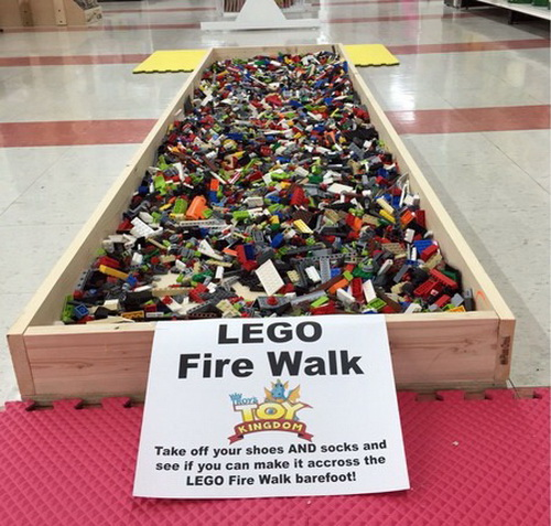 lol pics, lego, lego fire walk