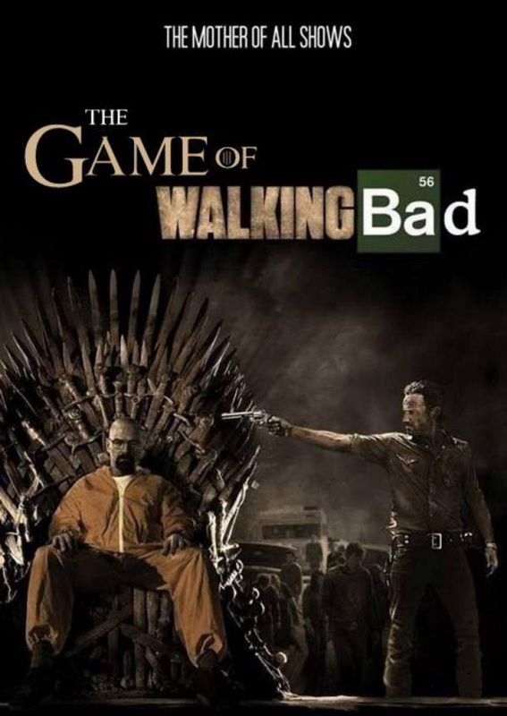 tv shows, got, breaking bad, walking dead