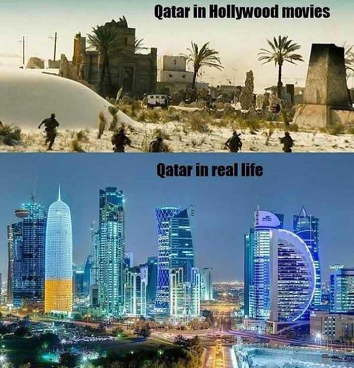 HOLLYWOOD VS. REALITY – 16 PICS