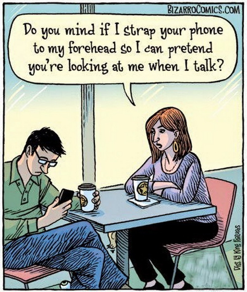 funny comics, lol, communicaton nowadays