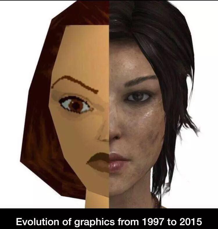 gaming, evolution of graphics