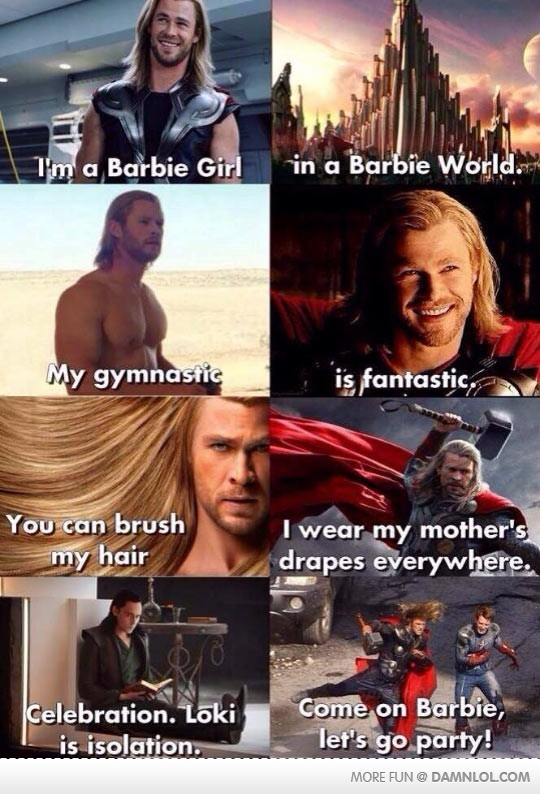 Hilarious Thor's New Song
