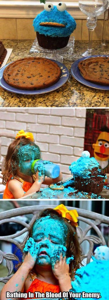 funny pics, lol pics, funny kids, cookie monster humor,