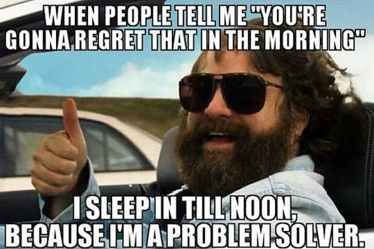 Funny Zach Meme : Still cracking funny zach galifianakis problem solver regret