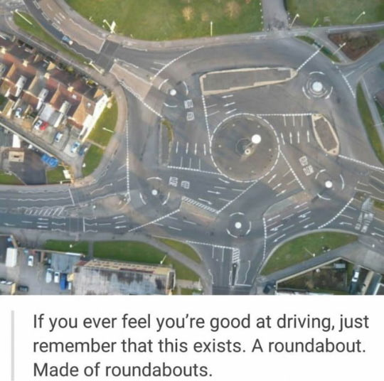 funny pics, driving humor, crazy roads