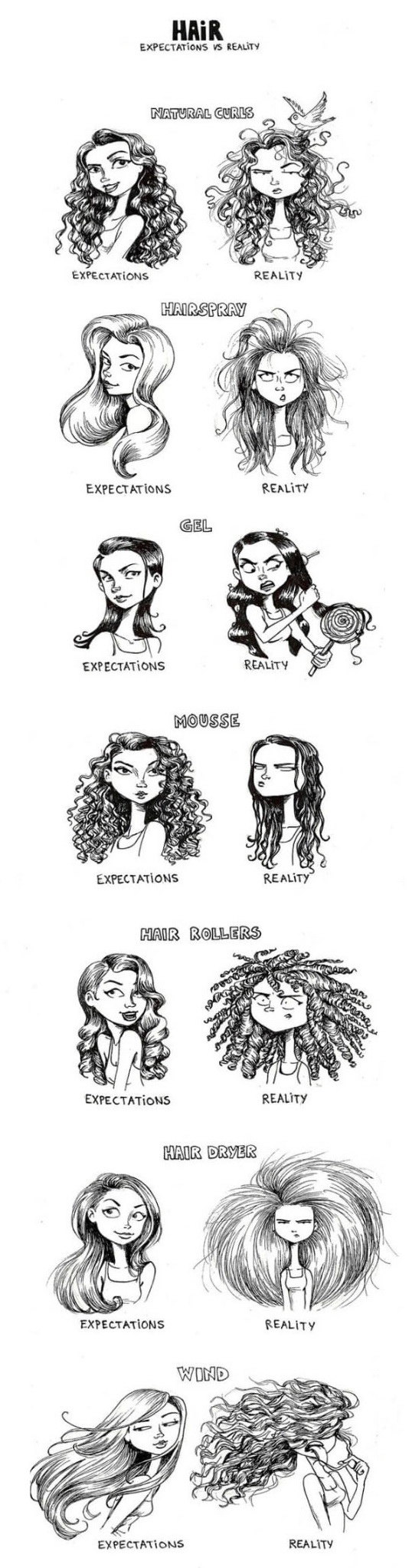 girls can relate, Expectation VS Reality, funny pics, lol pics