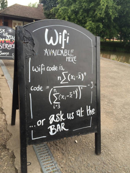 funny signs, free wifi, lol pics, math humor