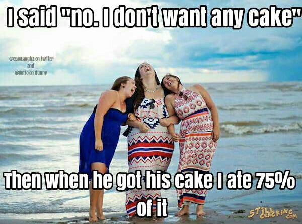 no cake please