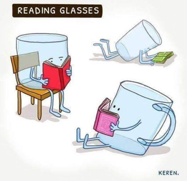 funny pics, lol, reading glasses