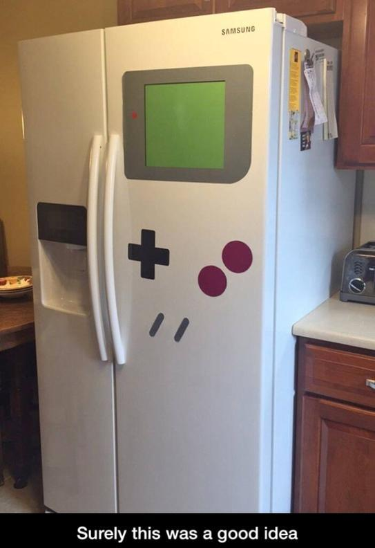 game boy fridge