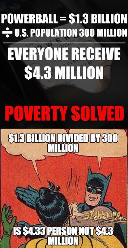 Most illiterate Equation Of Poverty Solution BUSTED!