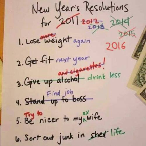 funny pics, lol pics, new year resolutions