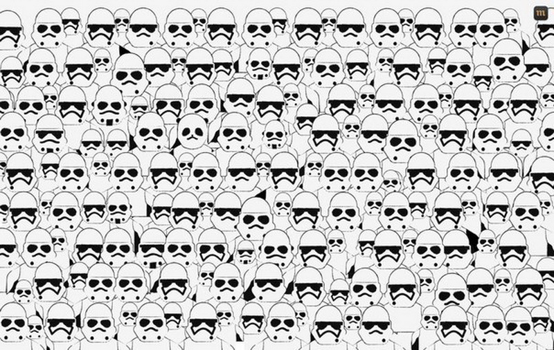 Stormtroopers, panda, find a panda, funny