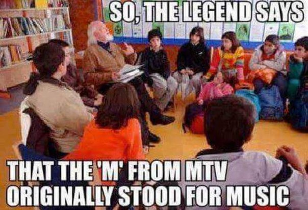 MTV, then and now, lol,