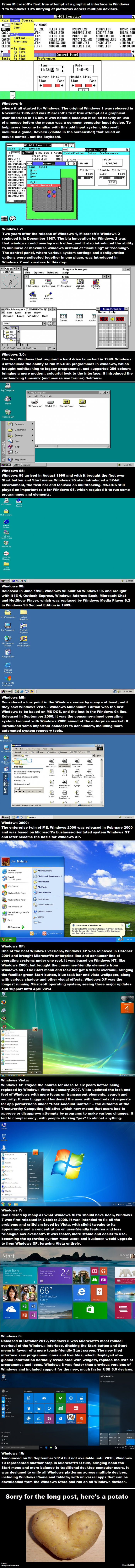 30 Years of Windows Evolution