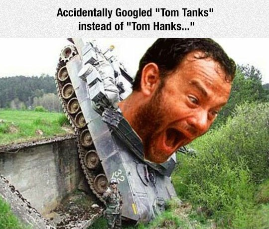 tom tanks, funny pics, lol pics, tom hanks