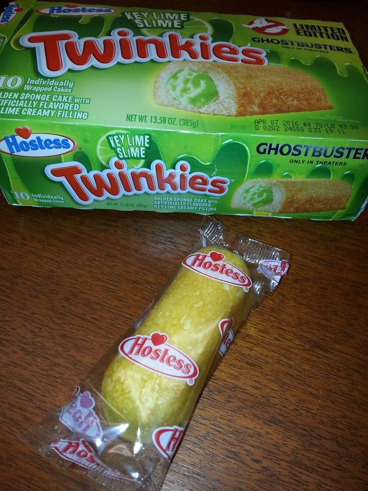 GHOSTBUSTERS-Themed Slime Filled Twinkie